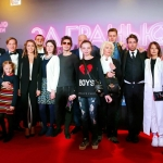 Пресс-волл с красной дорожкой премьера фильма За Гранью Реальности команда фильма Москва 2018