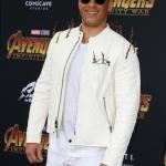 Пресс-волл премьера фильма Мстители Война Бесконечности Вин Дизель Голливуд США 2018
