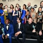 Пресс-волл премия гильдии кино США актерский состав сериала Это Мы Лос-Анджелес  США 2018
