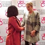Пресс-волл Фонд Принцессы Монако Шарлен 2018