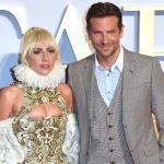 Пресс-волл фото зона премьера мюзикла Звезда Родилась Леди Гага Брэдли Купер Лондон 2018