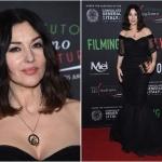 Пресс-волл с красной дорожкой Фестиваль итальянского кино Моника Беллучи Лос-Анджелес  США 2018