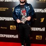 Пресс-волл фотозона премьера военной драмы Несокрушимый Михаил Галустян Москва 2018