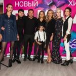 Пресс-волл фотозона премьера сериала ТРИАДА ТНТ команда фильма Москва 2019