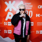 Пресс-волл фотозона изготовление пример музыкальный фестиваль ЖАРА Егор Крид Красная Поляна 2020