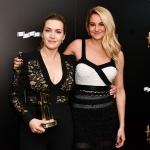 Пресс-волл 21-я церемония вручения премии Hollywood Film Awards Кейт Уинслет Шенлин Вудли Беверли-Хиллс 2017
