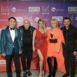 Пресс-волл фото зона вечеринка 22-летие МузТВ Москва 2018