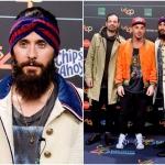 Пресс-волл музыкальная премия 40 Music Awards Джаред Лето Мадрид 2017