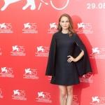 Пресс-волл фотозона 75 й Венецианский кинофестиваль Натали Портман Венеция 2018