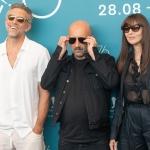 Прессфолл фотозона 76-й Венецианский кинофестиваль Венсан Кассель Гаспар Ноэ Моника Беллуччи Венеция 2019