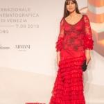 Прессфолл фотозона 76-й Венецианский кинофестиваль Моника Беллуччи Венеция 2019