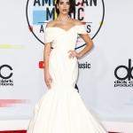 Пресс-волл фотозона с красной дорожкой премия American Music Awards Дуа Липа Лос-Анджелес США 2018