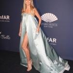 Пресс-волл фотозона вечер amfAR Gala Хайди Клум Нью-Йорк США 2020
