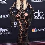 Пресс-волл с подсветкой премия Billboard Music Awards 2018 Эшли Симпсон Лас-Вегас США 2018