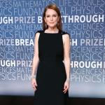 Пресс-волл фотозона церемония вручении премии Breakthrough Prize Джулианна Мур NASA США 2018