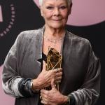 Пресс-волл фотозона вручение премии British Independent Film Awards (BIFA) Джуди Денч Лондон 2018