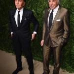 Пресс-волл с живыми растениями модное шоу CFDA Vogue Fashion Fund Валентино и Джанкарло Джаметти Нью-Йорк 2017