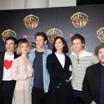 Пресс-волл кинофорум CinemaCon презентация проектов Warner Bros команда фильма Фантастические твари 2 Лас-Вегас США 2018
