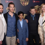 Пресс-волл кинофорум CinemaCon презентация проектов Warner Bros команда фильма Маугли Лас-Вегас США 2018