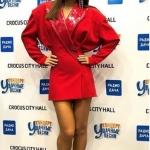 Пресс-волл концерт Удачные Песни Crocus City Hall Ани Лорак Москва 2018