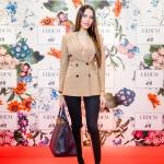 Пресс-волл с красной дорожкой капсульная коллекция Erdem x H&M Анастасия Решетова Москва 2017