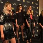 Пресс-волл презентация новой линии одежды Esmara by Heidi Klum Heidi and the City Хайди Клум Риц-Нойендорф Германии 2017