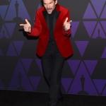 Пресс-волл фотозона премии Governors Awards за вклад в кинематографическое искусство Итан Хоук 2018