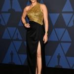 Пресс-волл фотозона церемония вручения наград Governors Awards 2019 Скарлет Йоханссон Лос-Анджелес США 2019