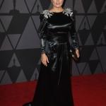 Пресс-волл церемония вручения премии Governors Awards Сальма Хайек в Gucci Голливуд 2017