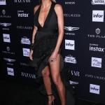 Пресс-волл фотозона вечеринка Harper's Bazaar Icons Хайди Клум Нью-Йорк США 2018