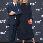 Пресс-волл Шарлотта Казираги представила капсульную коллекцию женских украшений Les Aimants и Montblanc Канны 2018 1