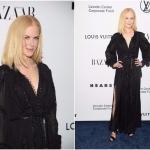 Пресс-волл вечер Николя Жескьера в честь бренда Louis Vuitton Николь Кидман Нью-Йорк 2017