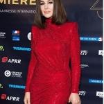 Пресс-волл церемония вручения наград Lumieres Моника Беллучи Париж 2018