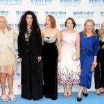 Пресс-волл премьера фильма Mamma MIA  2 Актрисы фильма Лондон Великобритания 2018