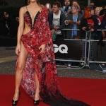 Фотозона ограждение красная дорожка премия Men Of The Year Awards 2018 Кейт Бекинсейл Лондон 2018