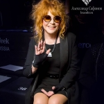 Пресс-волл показ коллекции Игоря Гуляева на неделе моды Mersedes-Benz Fashion Week  Russia Алла Пугачева Москва 2018