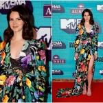 Пресс-волл церемония вручения премии MTV EMAs 2017 Лана Дель Рей Лондон 2017