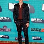 Пресс-волл церемония вручения премии MTV EMAs 2017 Шон Мендес Лондон 2017