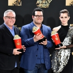 Пресс-волл премия MTV Movie TV Awards Эмма Уотсон 2017