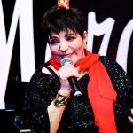 Пресс-волл фотозона вечеринка бренда Neiman Marcus Лайза Миннелли Нью-Йорк США 2019