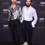 Пресс-волл фотозона вечеринка OSCAR от спонсора Cadillac Билл и Том Каулитц Лос-Анджелес  США 2019