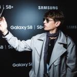 Пресс-волл презентация Samsung Galaxy S8 Влад Лисовец 2017