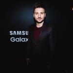 Пресс-волл презентация Samsung Galaxy S8 Сергей Лазарев 2017
