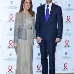 Пресс-волл фотозона благотворительный гала-вечер в честь фонда Sidaction Принцесса Мэри и Принц Йоахим Париж 2020