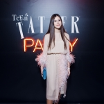 Пресс-волл галла ужин Tatler Teen Party Дина Немцова 2017