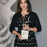 Пресс-волл церемония вручения наград The Virna Lisi Award Моника Беллуччи Рим 2017