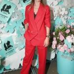 Пресс-волл вечеринка Tiffany & Co. Paper Flowers Даутцен Крез Нью-Йорк 2018
