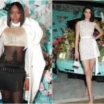 Пресс-волл вечеринка Tiffany & Co. Paper Flowers Наоми Кэмпбелл Кедалл Дженнер Нью-Йорк 2018