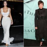 Пресс-волл фото зона презентация новой коллекции Tiffany&Co Ким Кардашьян Крис Дженнер Нью-Йорк США 2018