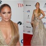 Пресс-волл вечеринка премия журнала Time 100 Gala-2018 Дженнифер Лопез Нью-Йорк 2018